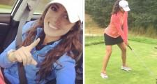 Photos: Golf Beauty Kaitlyn Sharpless