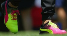 Rickie Fowler, Rory McIlroy Show Off New Shoes At The Players