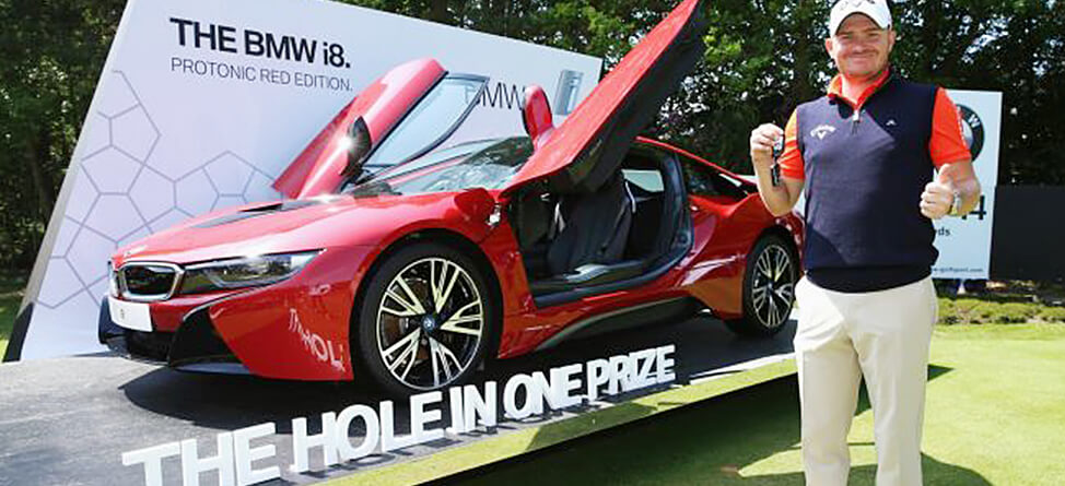 European Tour Player Goes Crazy After Car-Winning Ace