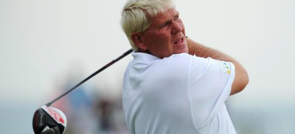 John Daly Blows Up At Senior PGA Championship