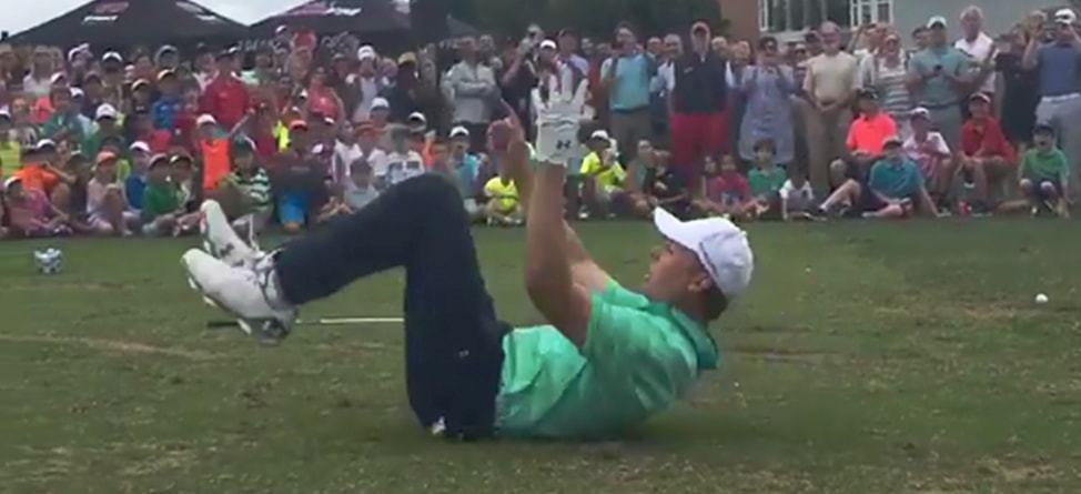 Jordan Spieth Pulls Off Marshmallow Trick Shot