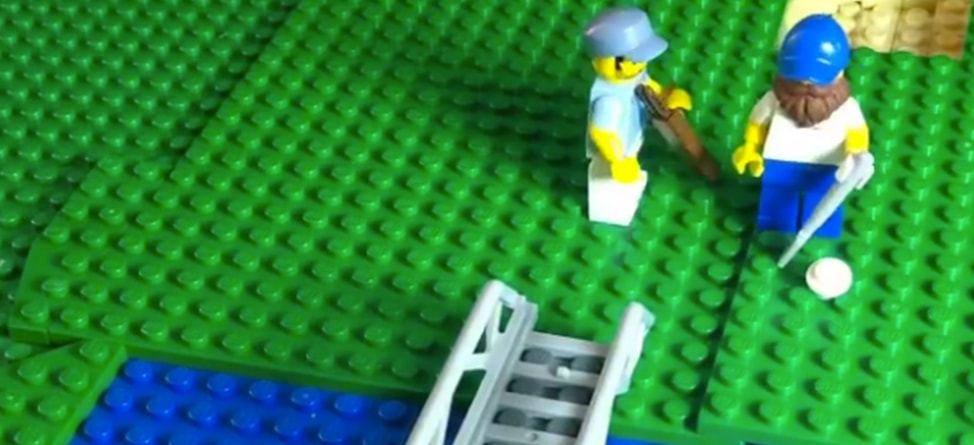 Lego Graham DeLaet Is Better At Golf Than You