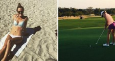 Photos: Golf Beauty Maty Monzingo