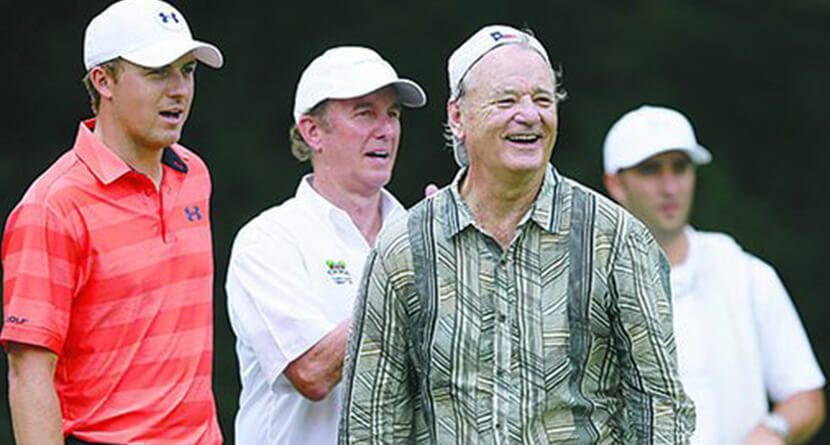 Jordan Spieth And Bill Murray Team Up At Colonial Pro-Am