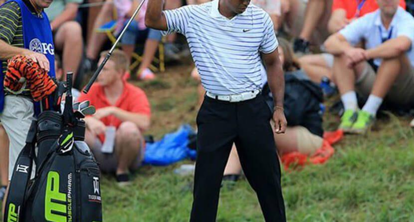 Tiger Woods Loses MusclePharm As Sponsor