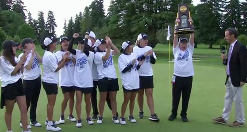 Epic NCAA Championship Match Ends In Dramatic Fashion