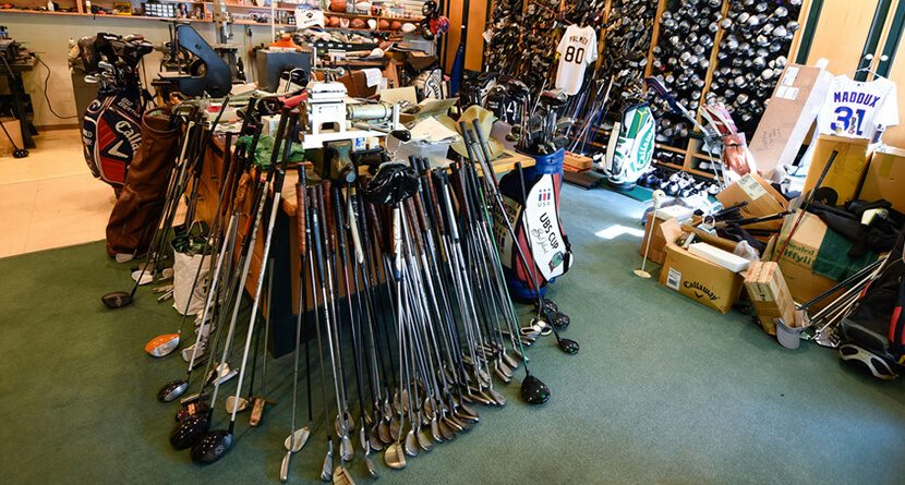 Take A Look Inside Arnold Palmer's Awesome Office And Warehouse