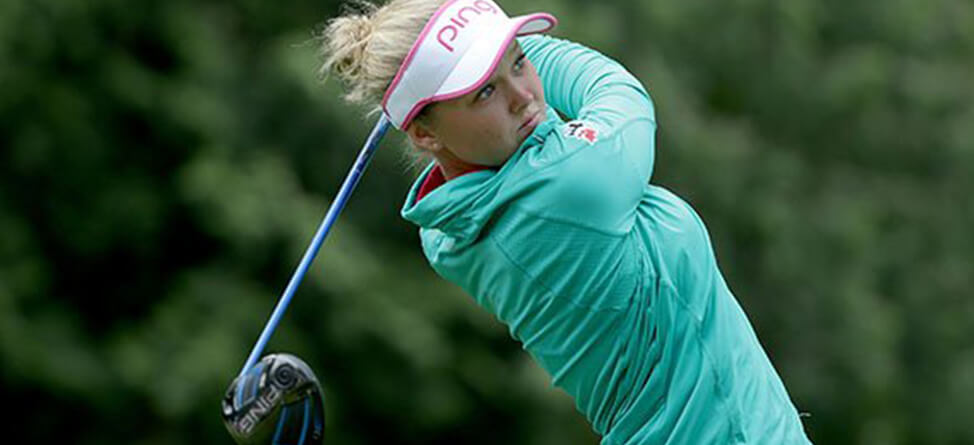 Brooke Henderson Breaks Through At Women's PGA Championship
