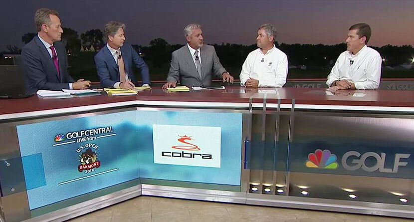 Brandel Chamblee Goes Off On Rules Officials Following DJ Ruling