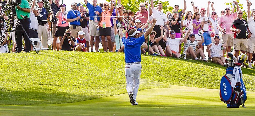 Naval Academy Graduate Hurley III Wins On The PGA Tour