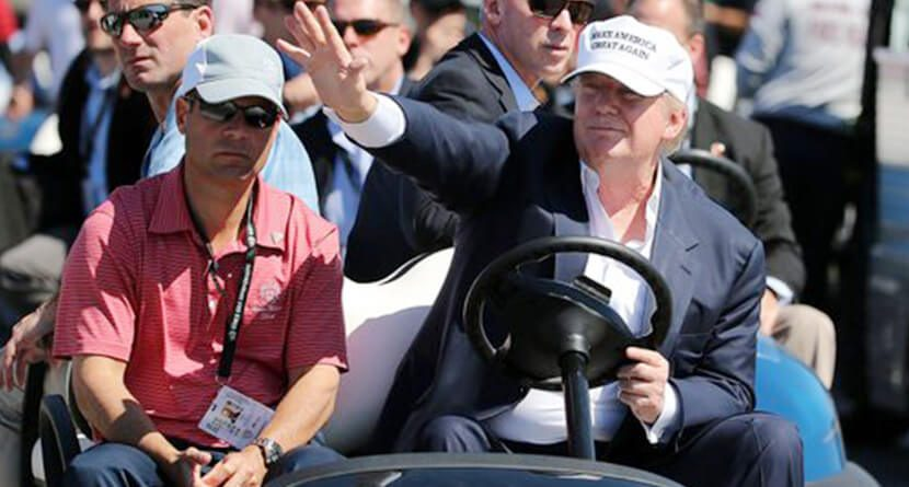 PGA Tour To Trump: Move To Mexico City Is Just Business
