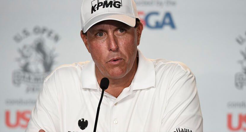 Phil Mickelson Gets Grilled About Off-Course Issues