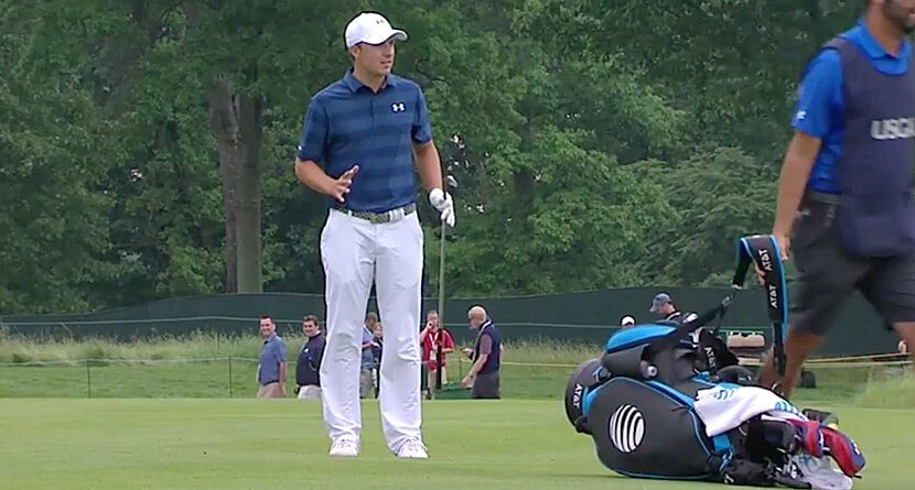 Jordan Spieth Flipped Out During The First Round Of The U.S. Open