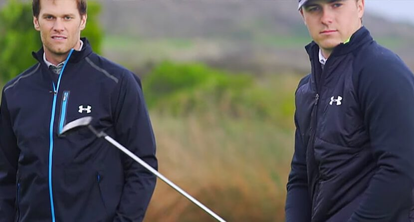 Jordan Spieth Gives Tom Brady Swing Advice On Facebook