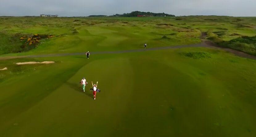 Yale Golf Team's Scotland Video Has Everything