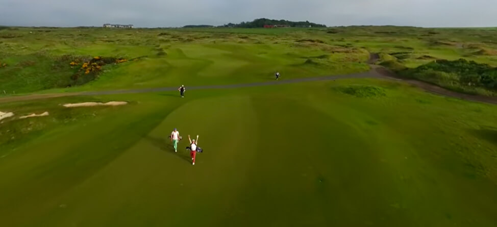 Yale Golf Team's Scotland Video Has Everything