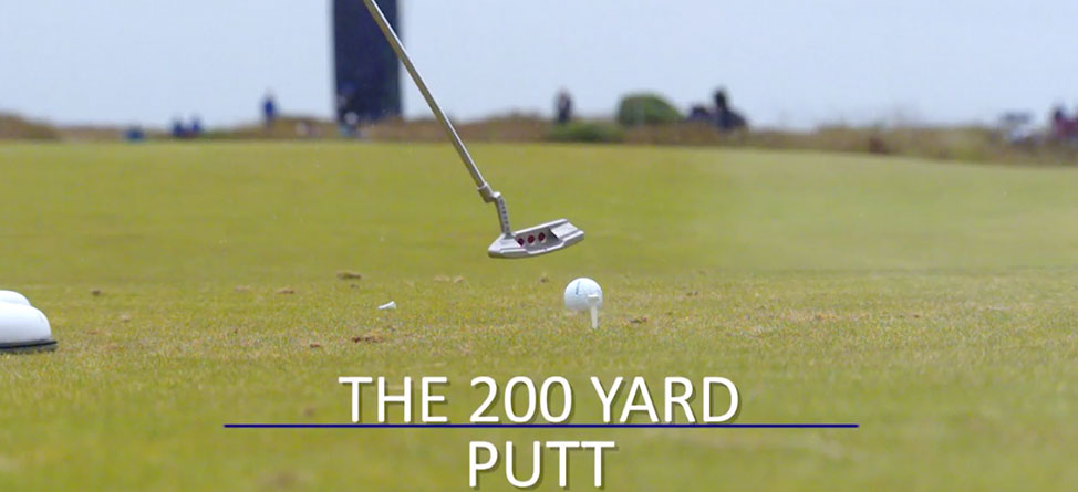 The 200-Yard Putter Shot Is Impossible