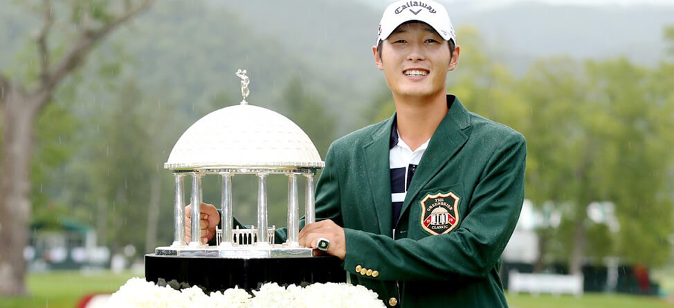 Danny Lee Is Defending His Greenbrier Title With Class