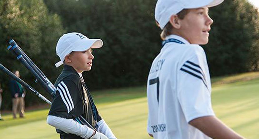 PGA Junior League Pair Bucks 17 Million-To-One Odds