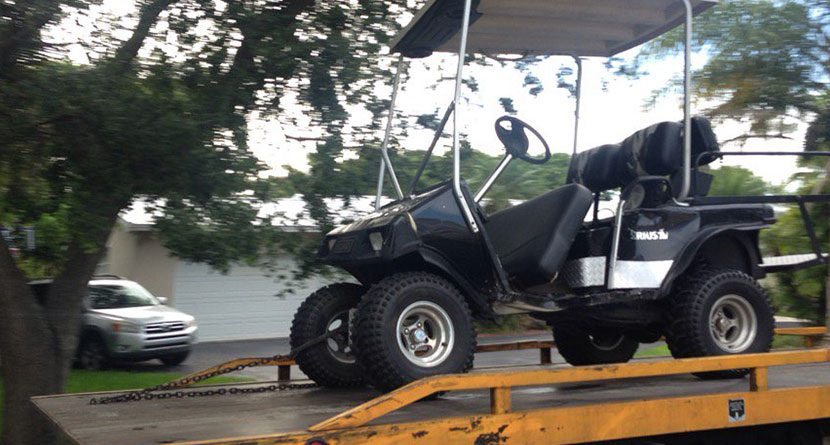 Golf Course Employee Dies In Cart Accident