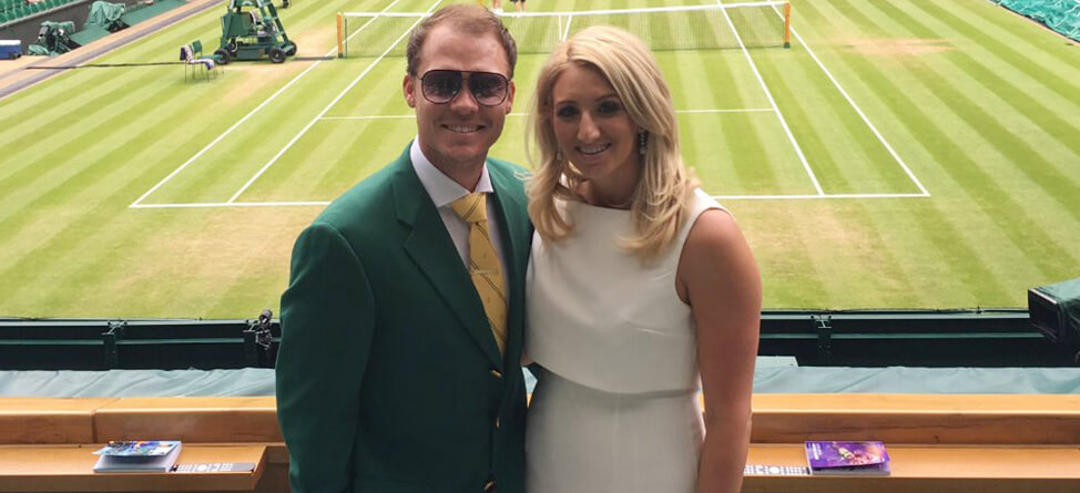 Masters Champ Gets Frisked At Wimbledon