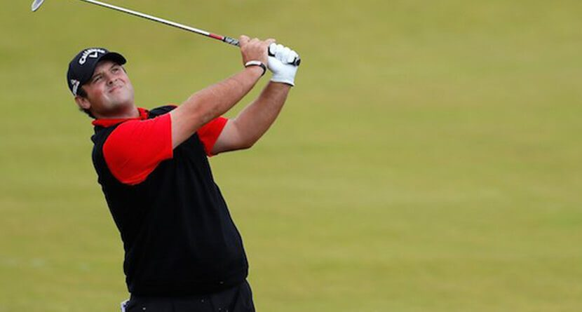 Patrick Reed Hacks Out, Falls Down A Hill In Scotland