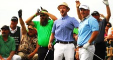 Celebrities Having Fun At Lake Tahoe Golf Tournament