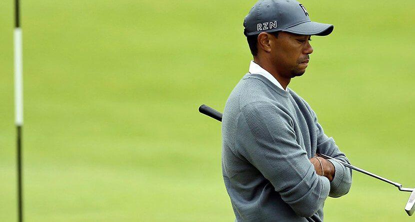 Tiger Woods Announces British Open Plans