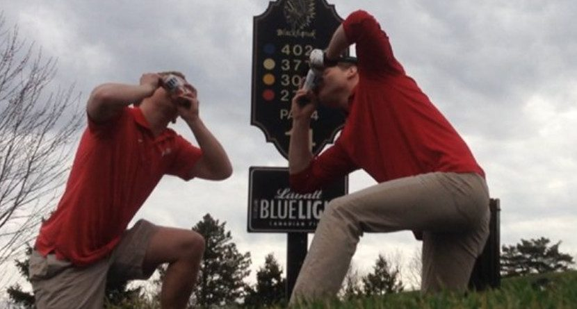 WATCH: Frat Boy Golf Course Antics