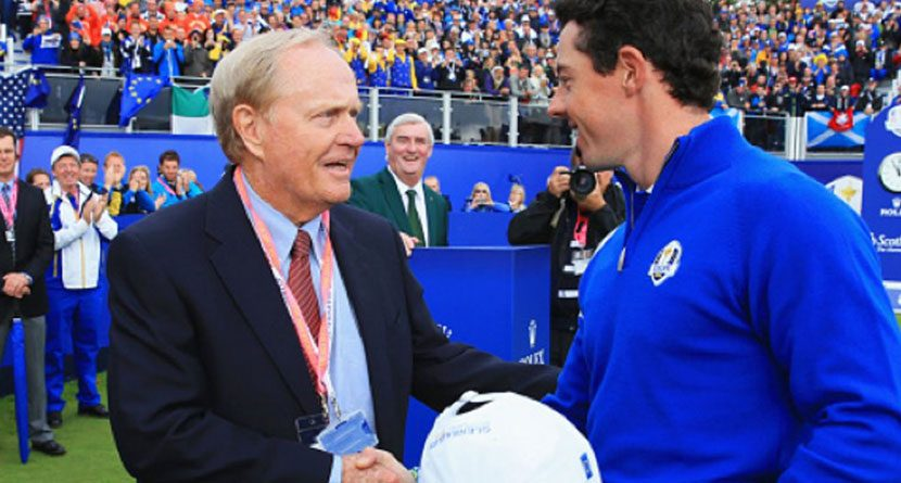 Jack Nicklaus Comes To McIlroy's Defense