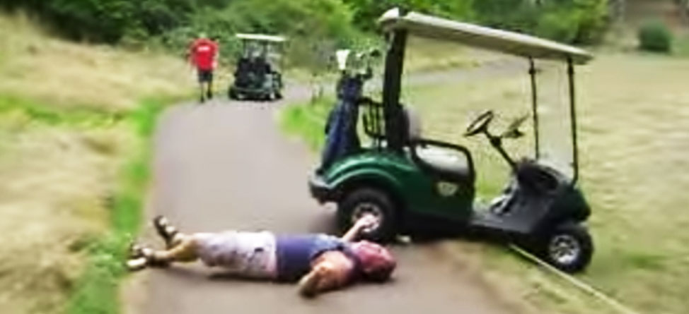 Man Arrested For Assaulting Course Employee With Cart