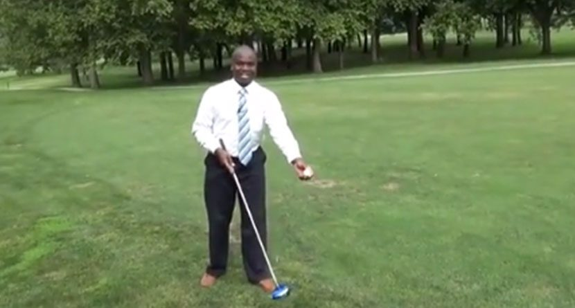 TV Anchor Finds Out Trick Shots Are Hard