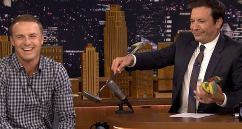 Spieth Goes On Fallon, Fails At Own Trick Shot