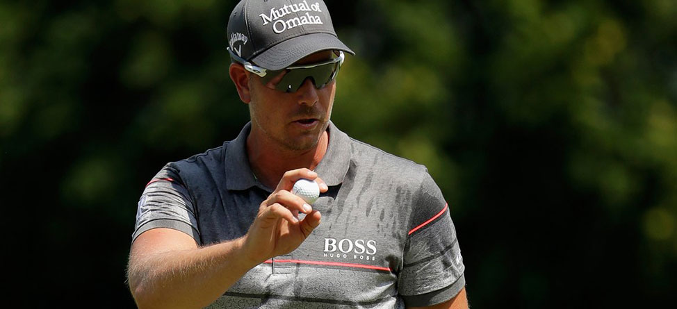 Stenson 'Duels' With Crocodile At Olympic Golf Course
