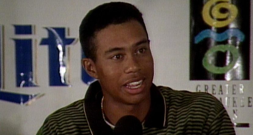 Things You Probably Didn't Know About Tiger's Pro Debut