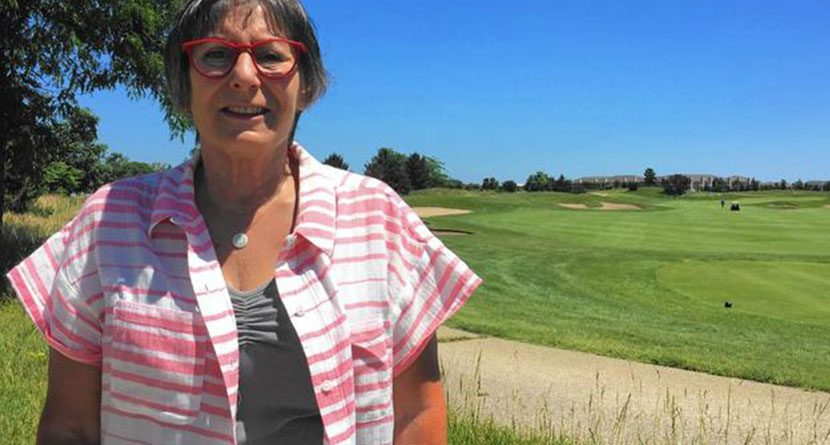 Woman In Moving Car Hit In The Neck By A Golf Ball