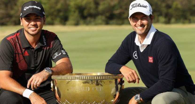 Day, Scott Commit To World Cup Of Golf