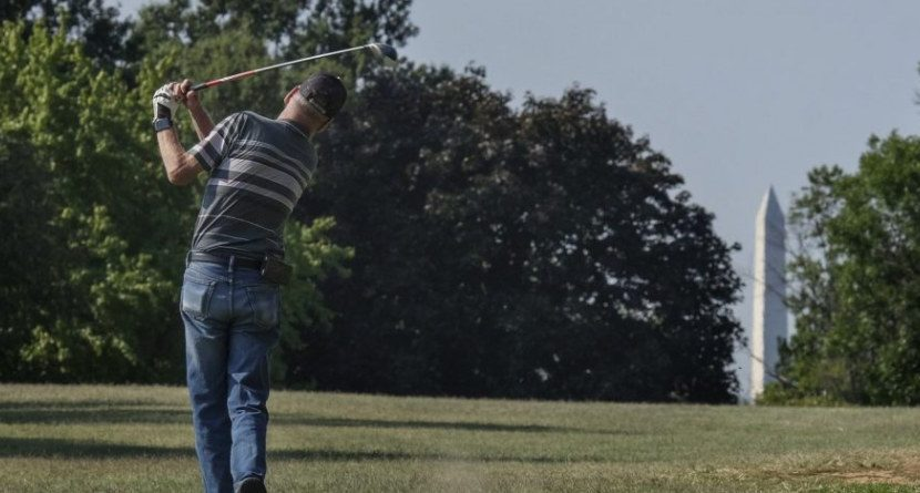 The Fight To Keep a Hidden Military Golf Course Open