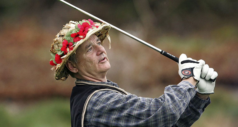 Bill Murray Is Starting His Own Golf Clothing Line