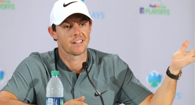 Rory Burns U.S. Ryder Cup Task Force