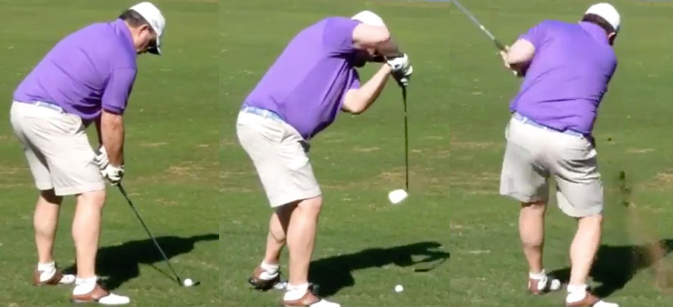 This Golfer Might Have The Ugliest Swing In The World