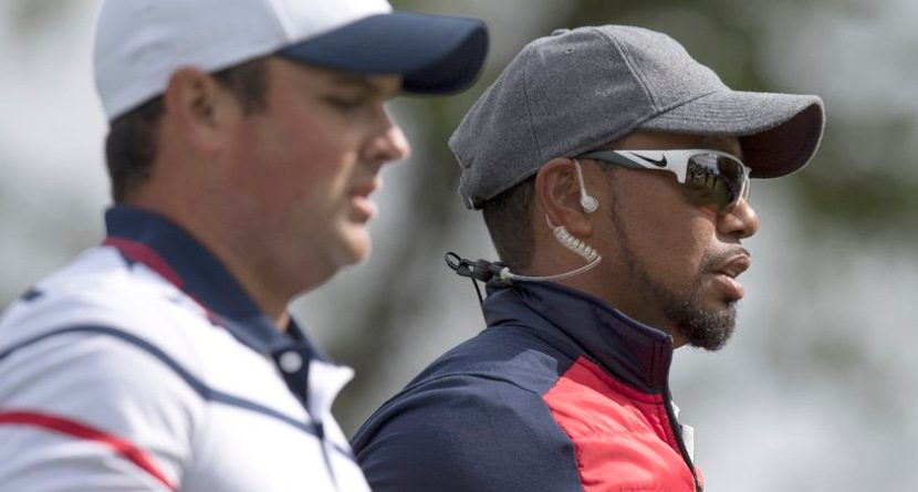 Tiger Gives Patrick Reed A Free Lesson