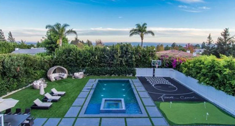 NBA Player's Pacific Palisades Mansion On The Market For $12.4 Million
