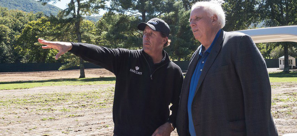 Mickelson's Firm Begins Renovation Of Greenbrier Course