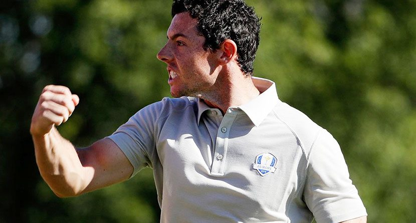 Rory Gets Heckler Kicked Out Of Ryder Cup