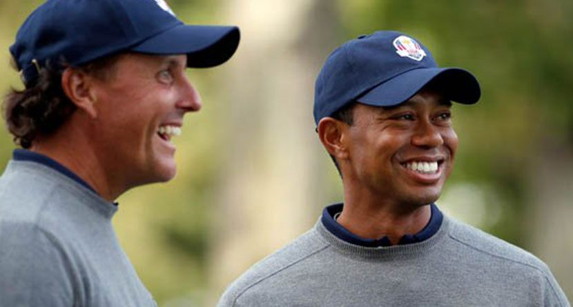Report: Tiger To Be Paired With Phil At Safeway Open