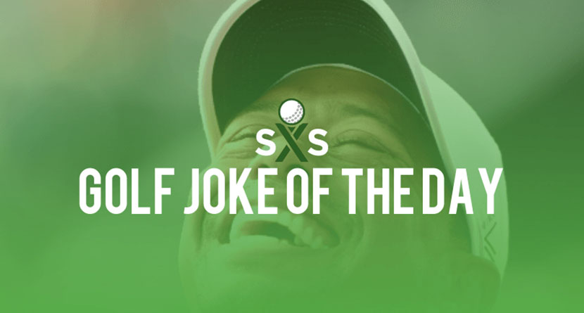 Golf Joke Of The Day: Saturday, February 24th