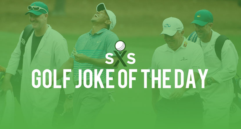 Golf Joke Of The Day: Saturday, December 10th