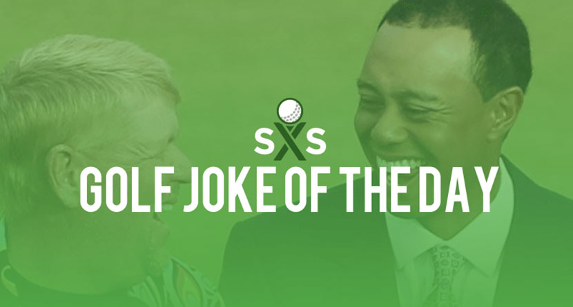 Golf Joke Of The Day: Wednesday, November 9th
