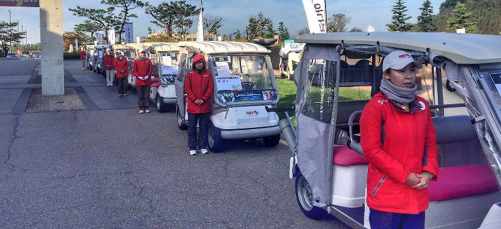 Driverless Golf Carts Could Be The Next Big Thing
